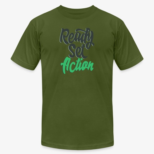 Ready.Set.Action! - Unisex Jersey T-Shirt by Bella + Canvas