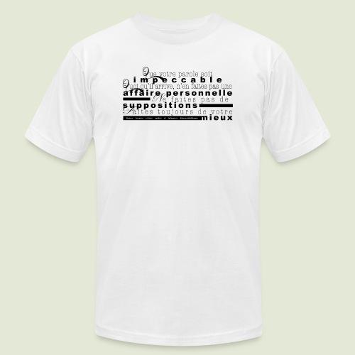 4 Accords Toltèques - Unisex Jersey T-Shirt by Bella + Canvas