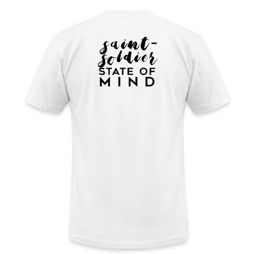 saint-soldier state of mind - Men's  Jersey T-Shirt