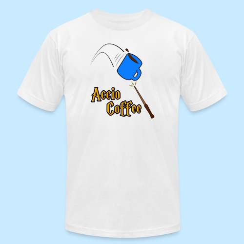 Accio Coffee! (Double Sided) - Unisex Jersey T-Shirt by Bella + Canvas