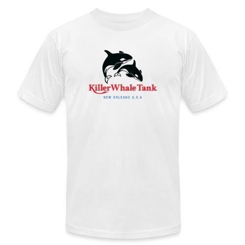 Killer Whale Tank Front - Men's Jersey T-Shirt