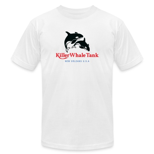 Killer Whale Tank Front - Unisex Jersey T-Shirt by Bella + Canvas