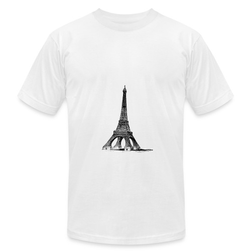 eiffel - Unisex Jersey T-Shirt by Bella + Canvas