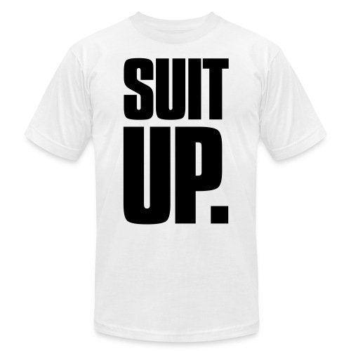 Suit Up - Unisex Jersey T-Shirt by Bella + Canvas