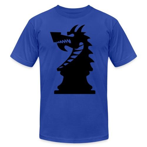 DA_mark_dark - Unisex Jersey T-Shirt by Bella + Canvas