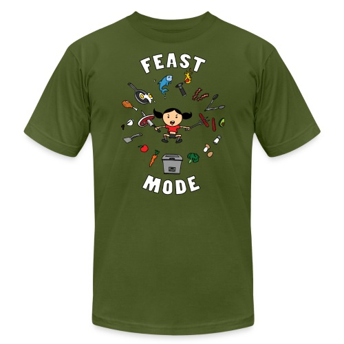 Feast Mode - Unisex Jersey T-Shirt by Bella + Canvas