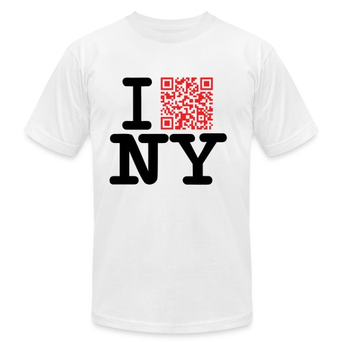 I love NY dirty - Unisex Jersey T-Shirt by Bella + Canvas