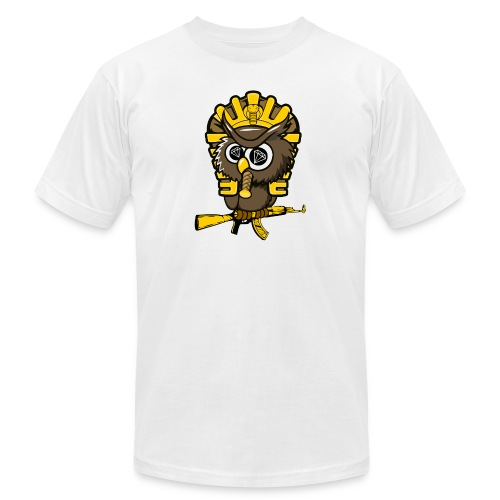 king otrg owl - Unisex Jersey T-Shirt by Bella + Canvas