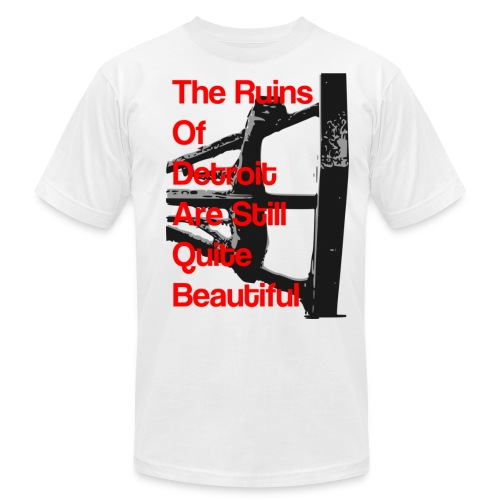 ruinsofdetroit8 - Unisex Jersey T-Shirt by Bella + Canvas