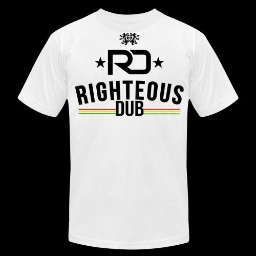 Righteous Dub Logo - Men's Fine Jersey T-Shirt