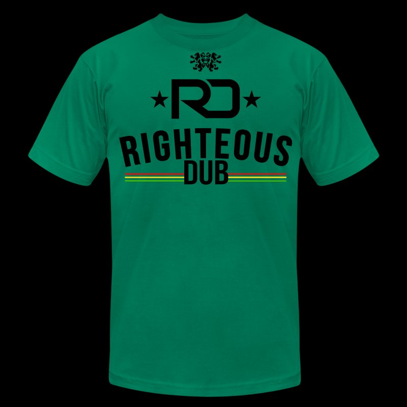 Righteous Dub Logo - Men's Fine Jersey T-Shirt