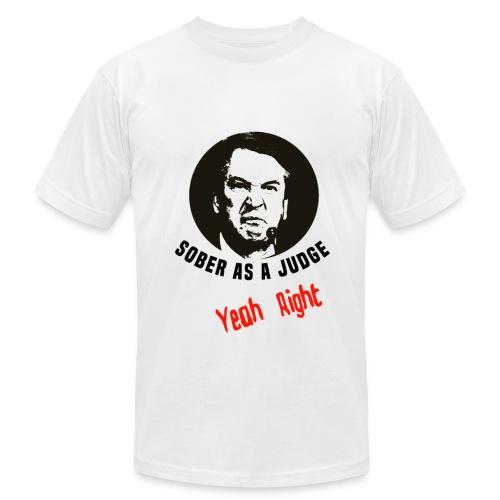 Sober As A Judge Mens & Women's T-Shirts iPhone - Men's Fine Jersey T-Shirt