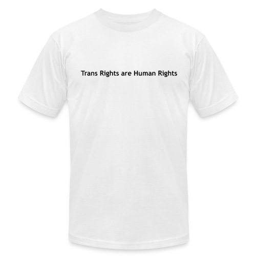 Trans Rights are Human Rights T-Shirt - Men's Fine Jersey T-Shirt