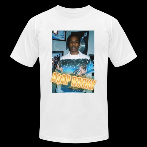 fire asap rocky - Men's Fine Jersey T-Shirt