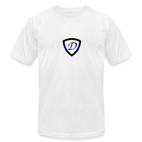 Dietz Foundation Thin Blue Line Badge - Men's Fine Jersey T-Shirt