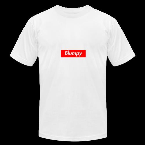 Blumpy Supreme Box Logo - Men's Fine Jersey T-Shirt