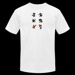 brawl stars layout - Men's Fine Jersey T-Shirt