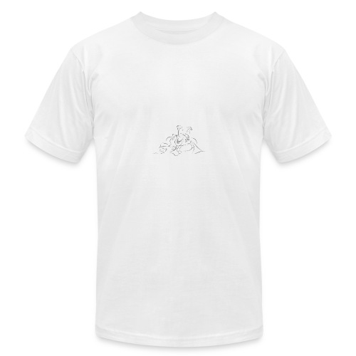 shri ganesh - Men's Fine Jersey T-Shirt