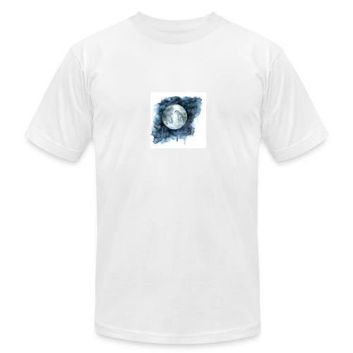 Watercolor Nights - Men's Fine Jersey T-Shirt