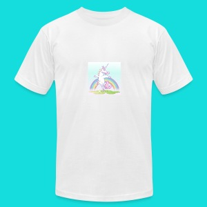 Sparkle Unicorn - Men's T-Shirt by American Apparel