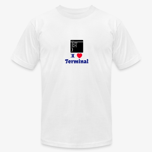 I Love Terminal - Men's Fine Jersey T-Shirt