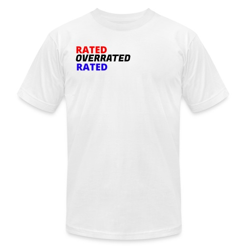 Rated Overrated T-Shirt - Men's Fine Jersey T-Shirt