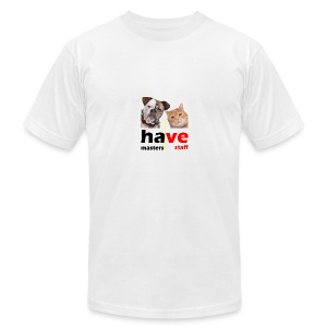 Dog & Cat - Men's Fine Jersey T-Shirt