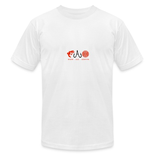 Bass All Around Logo Shirt - Men's Fine Jersey T-Shirt