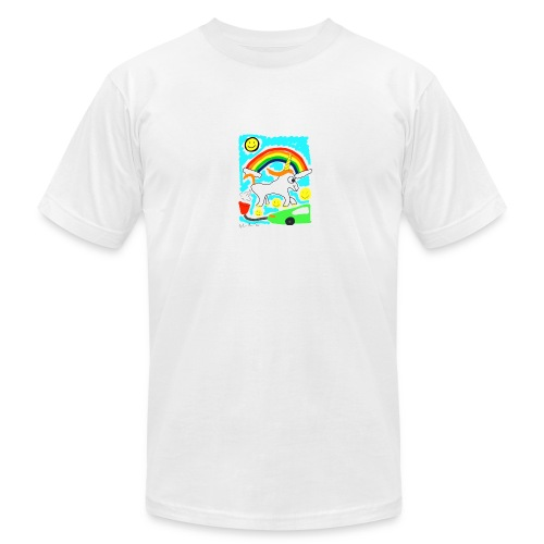 Unicorns are Magical Creatures The Make Electricit - Men's Fine Jersey T-Shirt