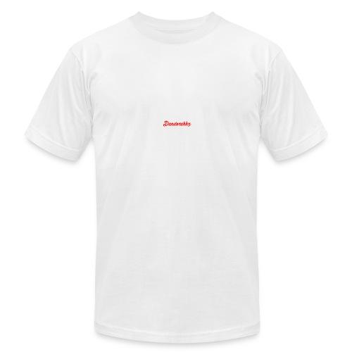Logo Red - Men's Fine Jersey T-Shirt