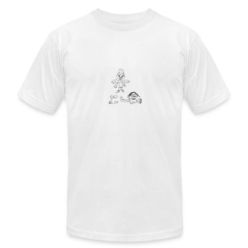 ANGEL OF DESTRUCTION - Men's Fine Jersey T-Shirt