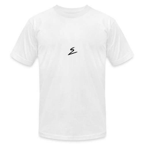 Swirv Signature Logo White - Men's  Jersey T-Shirt