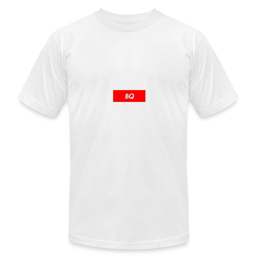 BQ Box Logo - Men's Fine Jersey T-Shirt