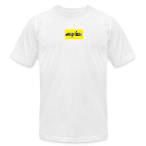 Soup Time Box Logo - Men's Fine Jersey T-Shirt