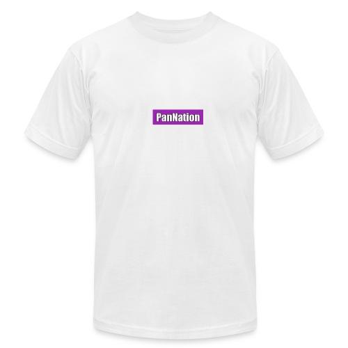 PanNation Box Logo - Men's Fine Jersey T-Shirt