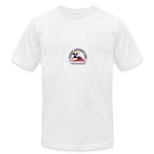 HAUSA GLOW LOGO - Men's Fine Jersey T-Shirt