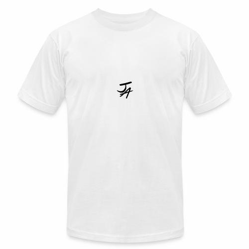 Jake Amodio Black Logo - Men's Fine Jersey T-Shirt
