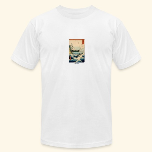 Public Motive - Minimal Japanese Shirt Design - Men's Fine Jersey T-Shirt