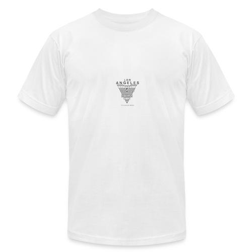LOS ANGELES ocean drive typography tee - Men's Fine Jersey T-Shirt