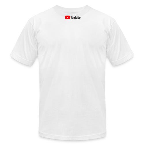YouTube (White) - Men's Fine Jersey T-Shirt
