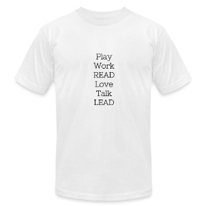 Play_Work_Read - Men's Fine Jersey T-Shirt
