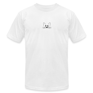 SQLogoTShirt-front - Men's T-Shirt by American Apparel