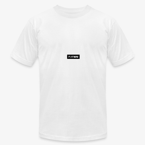 Times Supply - T-Shirt, White, Male - Men's Fine Jersey T-Shirt