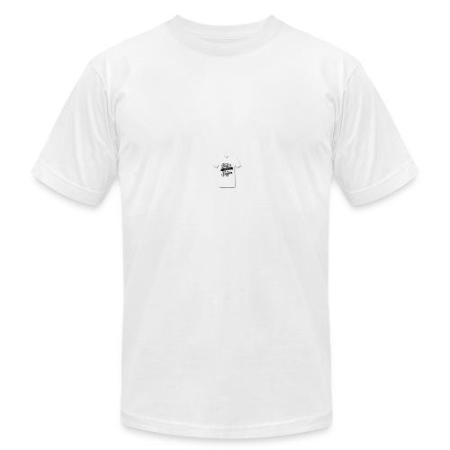 seek ye first christian designs - Men's Fine Jersey T-Shirt