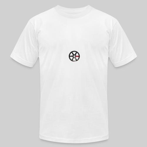 TE37 Wheel - Men's Fine Jersey T-Shirt