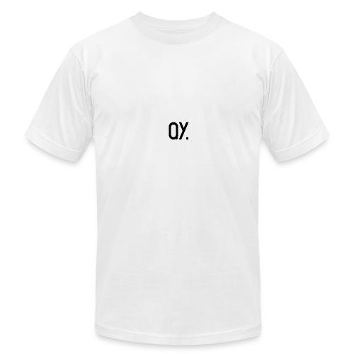 QY. - Men's Fine Jersey T-Shirt