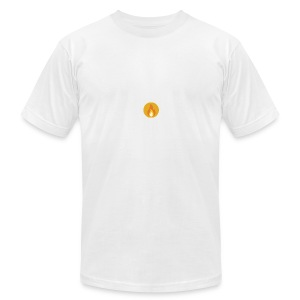 Flame (For cases and Cups) - Men's T-Shirt by American Apparel