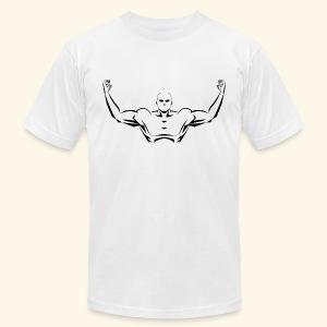 Flex Your Pecs - Men's Fine Jersey T-Shirt