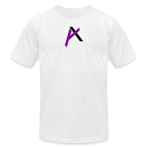 amaadilogo purple an black - Men's Fine Jersey T-Shirt