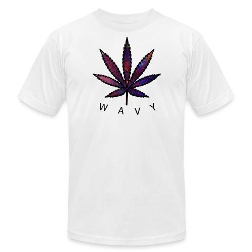 Wavy - Men's Fine Jersey T-Shirt